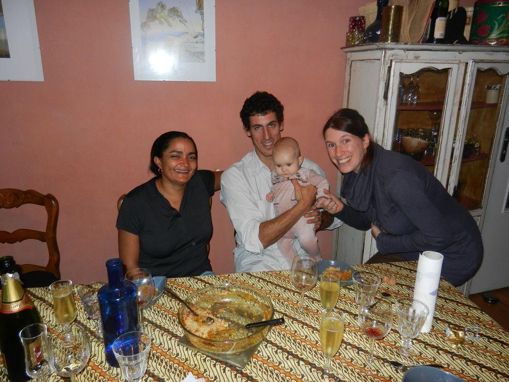 Myriam, Nicolas, Aurélie et Hélène