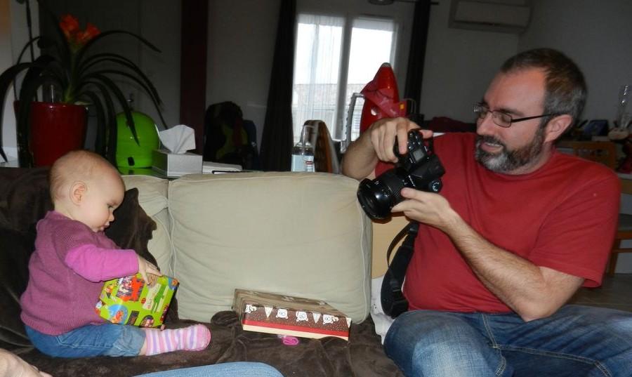 Parrain & Aurélie en séance shooting !