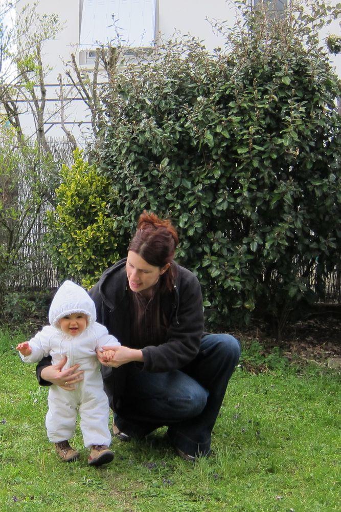 20/03/2013 - Aurélie avec le pilote blanc , Hélène - Blagnac