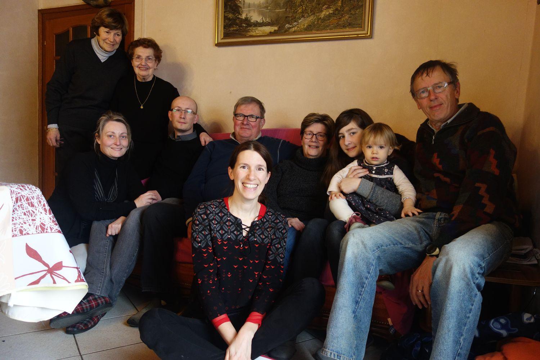 Nicole, Corinne, Jeannine, Christophe, Alain, Hélène, Denise, Marie, Alicia, Pierre